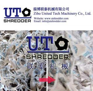 double shaft shredder -shoes waste shredder, textile shredder, cloth recycling, fiber shredder, double shaft crusher Manufactures