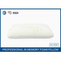 China Reversible Traditional Silent Night Memory Foam Pillow With Washable Zippered Cover on sale