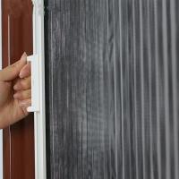 Buy cheap Retractable Plisse Screen Door Heavy Duty Aluminum Four Sided Frame from wholesalers