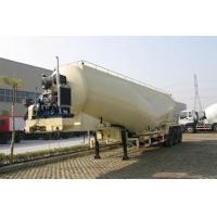 China 39cbm Dry Bulk Tank Trailer For Talcum Powder , Cement Coal Delivery on sale