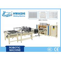 Steel Wire Shelf Welding Machine ,  Full Automatic Oven Rack Spot Welding Machine Manufactures