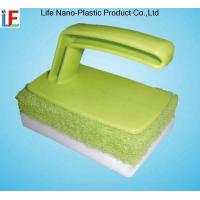 Compressed Magic Sponge With Handle Manufactures