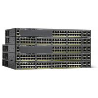 Quality FCC High Speed Network Gigabit Switch Stackable Layer 2 WS-C2960X-24PS-L for sale