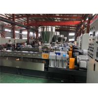 Lab Scale Twin Screw Extruder / Double Screw Extruder 200 Kg Per Hour Manufactures