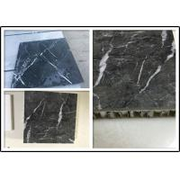 Marble Stone Aluminium Honeycomb Panel with Edge Open  For Indoor Decoration