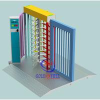China Customized Rfid Acess Control Full Height Turnstile Gate For Entrance And Exit on sale