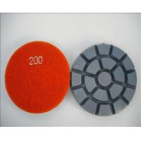XY-088-5 granite velcro polishing pads Manufactures