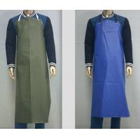 Customized Waterproof Industrial Protective Clothing Aprons PVC Leather Fluid Resistant Manufactures