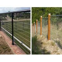 China Standard Export Dimension Welded Wire Mesh Fence Black Colour on sale