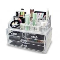 China DY8802 Acrylic Cosmetic Makeup Organizer With Drawers For Ladies on sale
