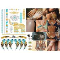 Transformers Temporary Metallic Tattoo Stickers Custom Designs Bling Shiny Manufactures