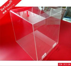Supermarket / Office Acrylic Display Holder Plexiglass OEM / ODM Manufactures