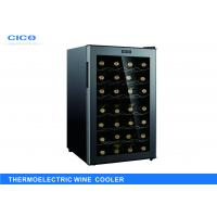 High Capacity Thermoelectric Wine Refrigerator , Dual Zone Wine Cooler Manufactures