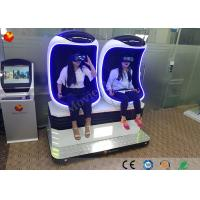 1 / 2 / 3 Seats Virtual Reality 9d Vr Cinema Egg Shaped Theater Simulator Manufactures