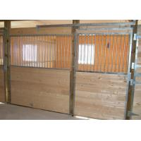 Bamboo Panel Horse Stall Fronts Temporary Horse Stables In Galvanized Manufactures