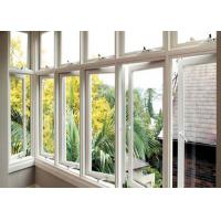 Energy Saving Double Glazed Aluminium Windows Awing Sliding AS2047 Approved Manufactures