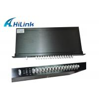 Customized CWDM 16 Channel Mux Dual Fiber 1U Rack Mount Low Insertion Loss Manufactures