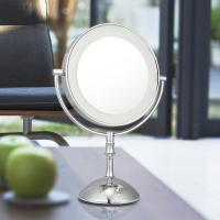 Magnifying 3X Cosmetic Double Sided Lighted Makeup Mirror White / Warm Whita Can Change Manufactures