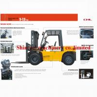 7.0 Ton Oil Diesel Forklift Truck CPCD70  A-6BG1QC-02 Engine With TCM Technology Manufactures