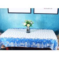 Elegant Biodegradable Paper Linen Tablecloths / Disposable Paper Table Covers For Hotel Manufactures