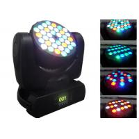 108w Disco LED Moving Head Light , 5 - 60° Beam Angle Dj Moving Head Lights Manufactures
