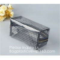 Promotion Travel PVC Cosmetic Pouch,PVC Makeup Bag Pouches Tote Clear Transparent Cosmetic Travel Bag For Sale Manufactures