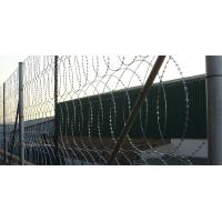High Tensile Security Razor Wire Fencing Sun Resistant For Railways / Highways Manufactures