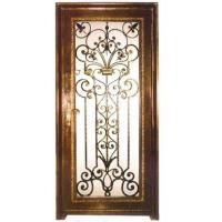 wrought iron interior ornament gate Manufactures