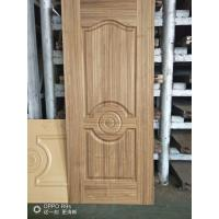 Natural Teak Interior Door Skins , HDF Moulded Door Skin 3mm / 4mm Thickness Manufactures