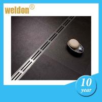 Waterproof linear shower floor drains with Polished , metal shower drain Manufactures
