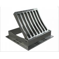 Quality Anti-theft captive hinge EN124 C250 Gully Gratings Hinged & Dished for sale