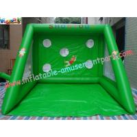 Water-proof Inflatable Sports Games , Football Toss Games Manufactures