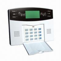 Wireless PSTN home alarm system with LCD display and auto-dial Manufactures