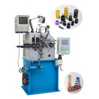 China Advanced CNC Compression Spring Machine Automatic Oiling For Oil Seal Springs on sale