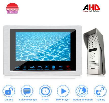 Quality Morningtech 10inch Video intercom with CMOS camera for Two-way Intercom for sale