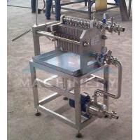 China Beer Honey Oil Plate and Frame Filter Press Machine and Price on sale