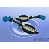 GG25 / GGG40 Wafer Butterfly Valve Extended Bonnet applies to the underground pipeline Manufactures