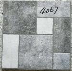 Grey Bathroom 400x400 Floor Tiles Rustic  3d Inkjet Printing Interior Exterior Manufactures