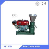 Supply 15HP diesel motor grain alfalfa pellets granulator machine Manufactures