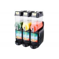 China 12L×3 800W Ice Slush Machine , Commercial Slush Machine For Frozen Beverage on sale