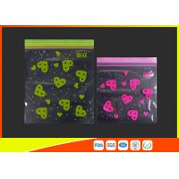 Quality Waterproof Ldpe Resealable Small Ziplock Bags Colored Lip Printed Customized for sale