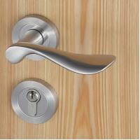Casting Solid Stainless Steel Handle Mortise Door Lock 54mm Escutcheon Diameter Manufactures