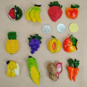 3D Mexico Fruit Fridge Decoration Magnets Film Covered Design Eco Friendly Manufactures