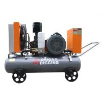 Electrical Shift Water Well Air Compressor , Mobile Series Industrial Air Compressor Manufactures