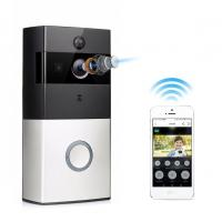 Wireless Video Door Phone with Battery 166 Degree Wide Angle Night Vision WiFi Video Doorbell Manufactures