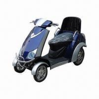China 350/500W Mobility Scooter with Battery Operated and Four Wheel, Measures 180 x 73 x 117mm on sale
