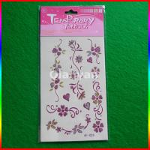 Newest Eco-friendly fashion glitter powder temporary tattoos Manufactures