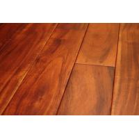 China mahogany stain solid wood flooring acacia on sale