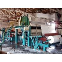 1760mm Single Cylinder and Single Wire toilet Tissue Paper Making Machine Manufactures