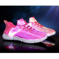 China Endurable Light Up Running Shoes , Waterproof Led Walk Shoes High Folding Endurance on sale